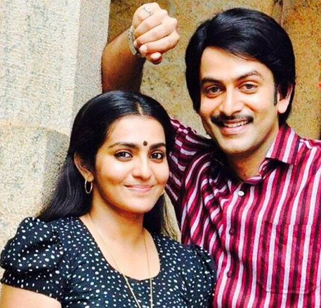 prithviraj and parvathi in ennu ninte moideen