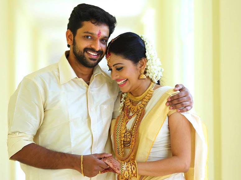 Sshivada with Husband Muralikrishna